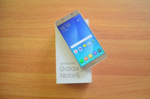 Samsung Galaxy Note 5 Selados