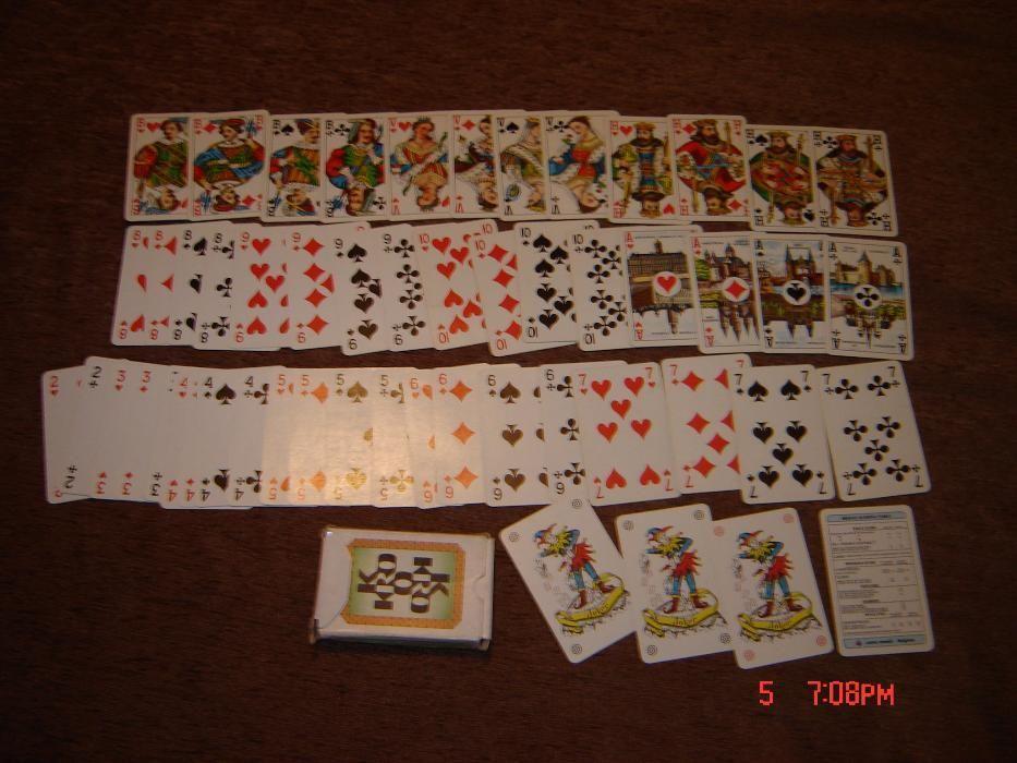 carti de joc de colectie anii 60 Belgia