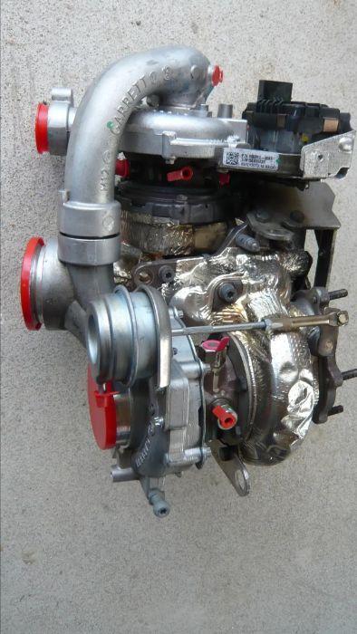 Би Турбо Ауди А6 4Г Скю5 А7 Bi Turbo Audi A6 4G SQ5 А7 GT30 Garrett