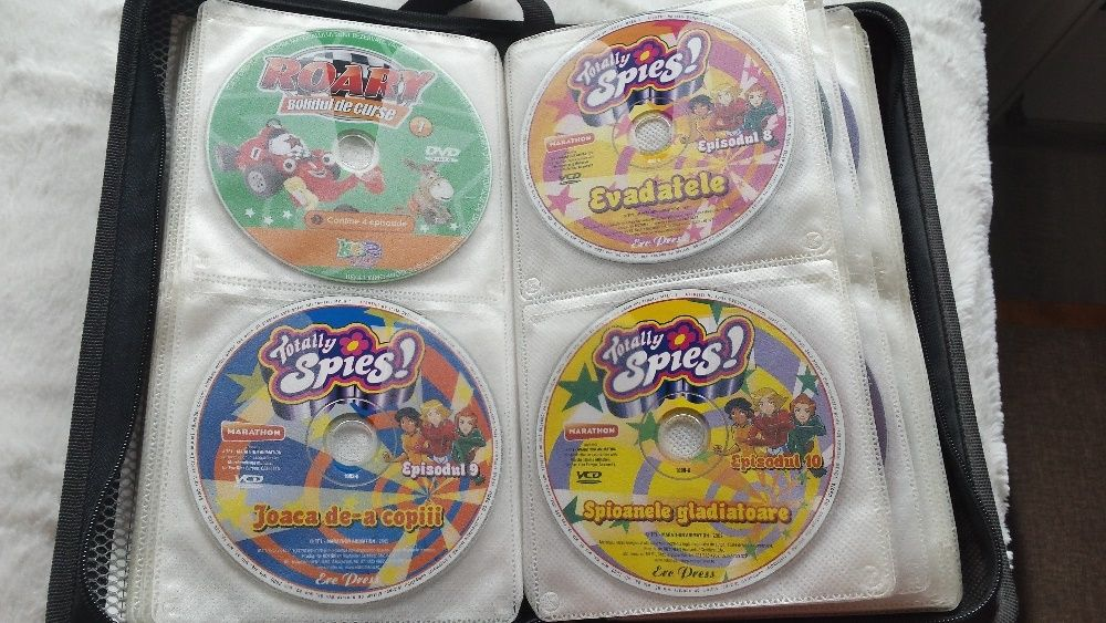 animatii Roary, Totally spies, Sonic X