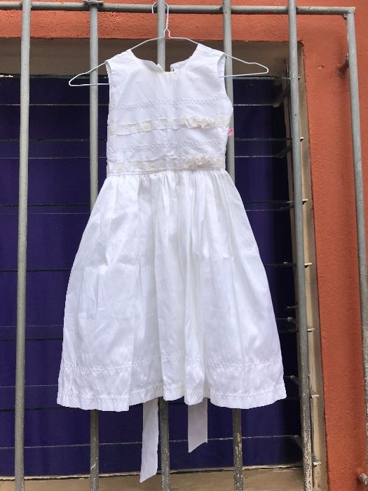 vestido de baptismo