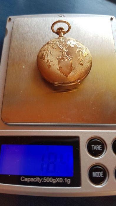 Ceas aur buzunar pery watch