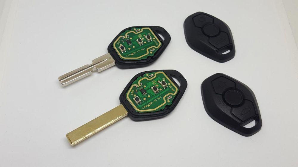 Carcasa cheie BMW 315mhz cip+parte electronica+logo