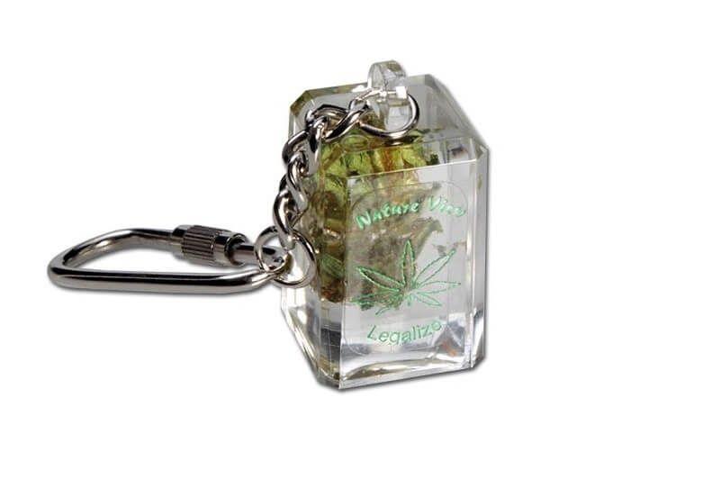 Breloc Weed Canepa Ciuperci Hash Key Chain