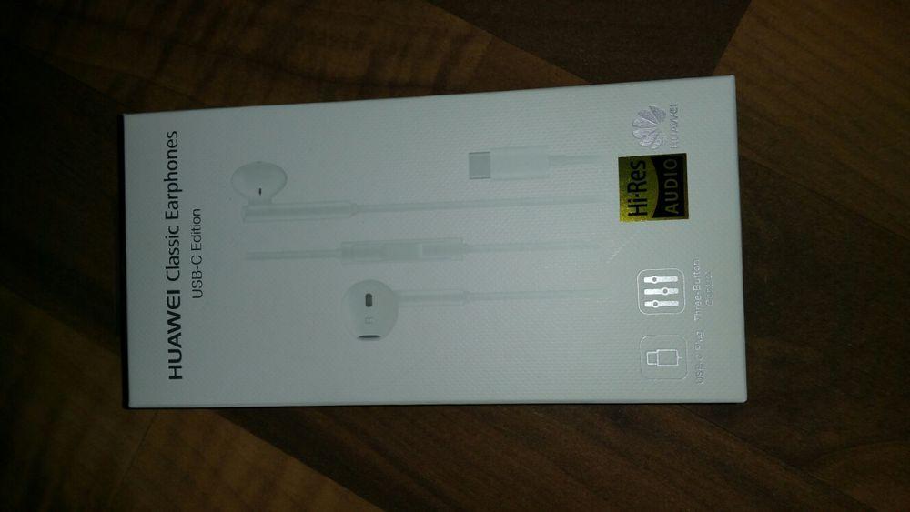 Casti noi si originale Huawei mufa Type-C Mate10,P20,Mate20 si Pro