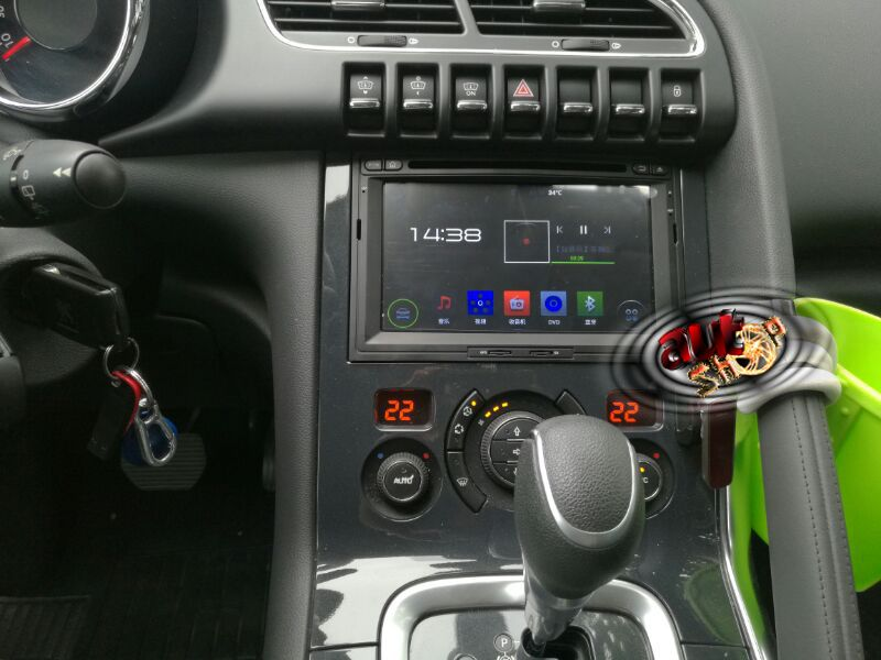 Navigatie Peugeot 3008 2009 si 2016/ 5008 cu Android 7.1