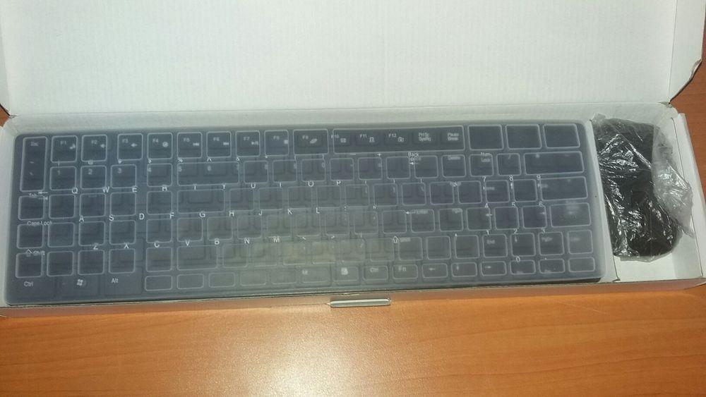 Kit de teclado e Mouse wireless e protector de poeira Maputo - imagem 2