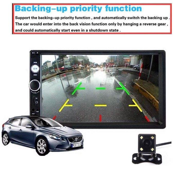 """7"""" Мултимедия DVD CD Touch Screen Мултимедия Bluetooth Mp5 USB с"""