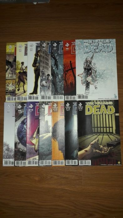 Reviste Walking Dead , Rahan , Spiderman , Strange , U-Comix