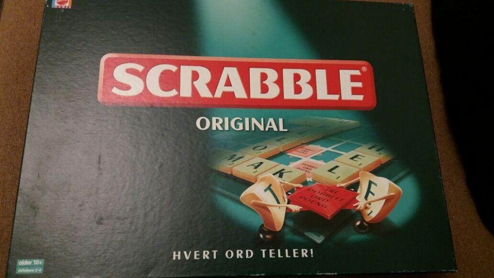 Joc scrabble in limba Daneză