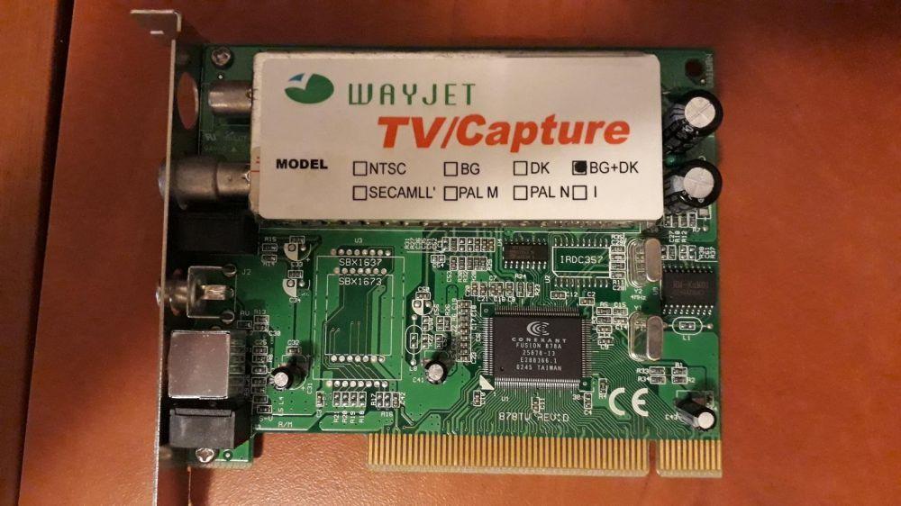 Vand TV tuner PCI WayJet