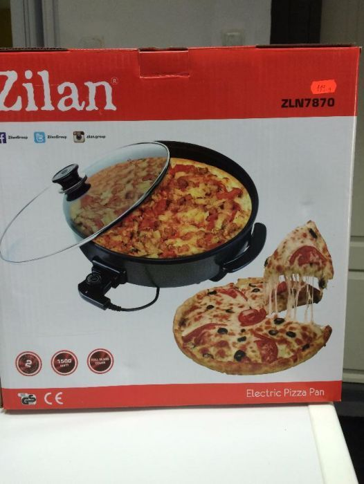 Grill electric pentru pizza, diametru 38 cm , 1500 w