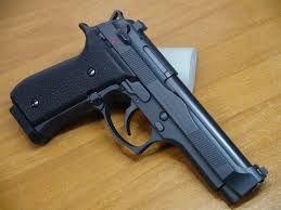 Pistol-UNICAT-Foarte PUTERNIC Beretta/Taurus Full METAL Airsoft Co2