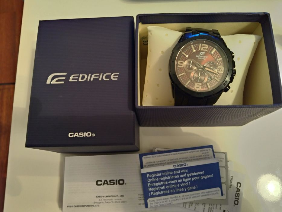 Casio Edifice 538 BK 5AVUEF