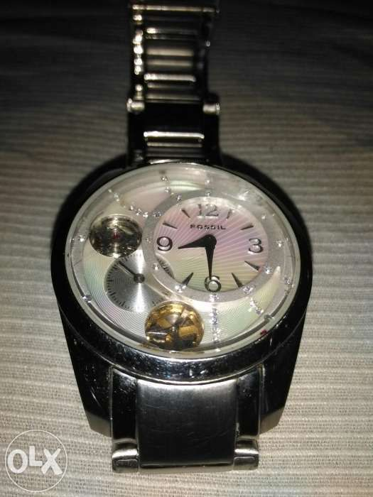 Ceas femei FOSSIL TWIST-automatic/ quartz simultan