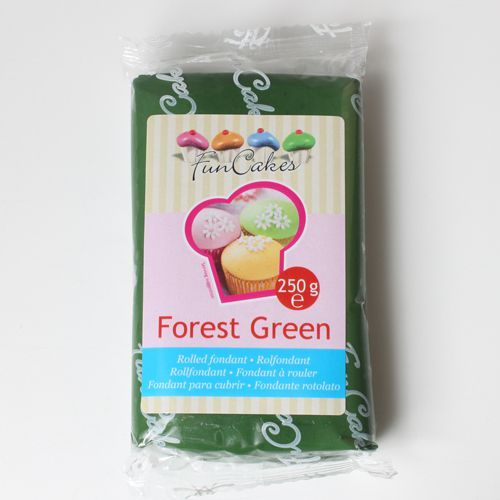 Pasta de zahar/ fondant/ icing/ martipan Verde