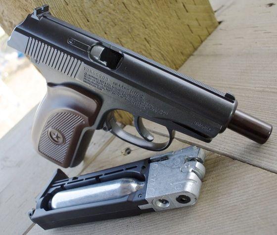 Pistol - ZGOMOT PUTERNIC - Recul Mare - Blowback - FULL METAL Airsoft