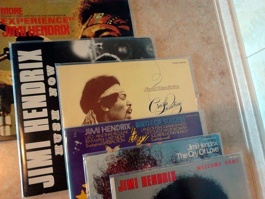 Виниловые пластинки - Jimi Hendrix