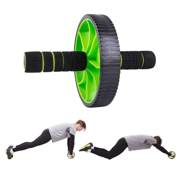 Ролка за коремни преси - уред за коремни мускули и трениране на корем