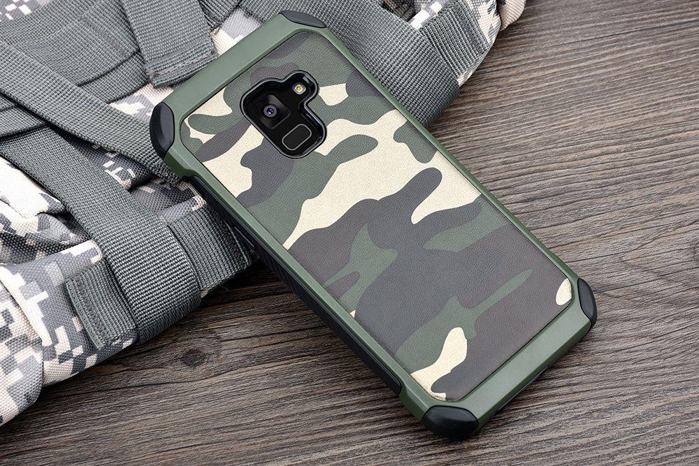 Камуфлажен кейс за Samsung Galaxy A8 2018, A530
