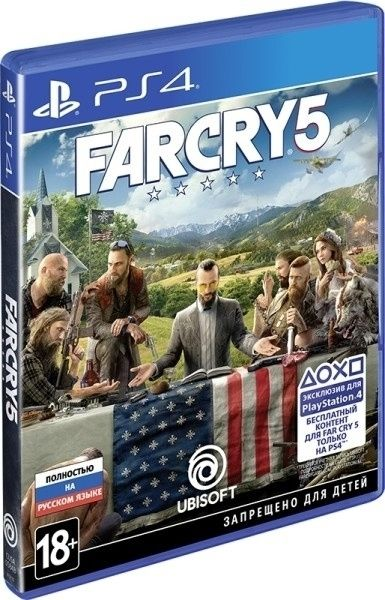 Новинка FAR CRY 5 [PS4] \ магазин GAMEtop \ возможен обмен
