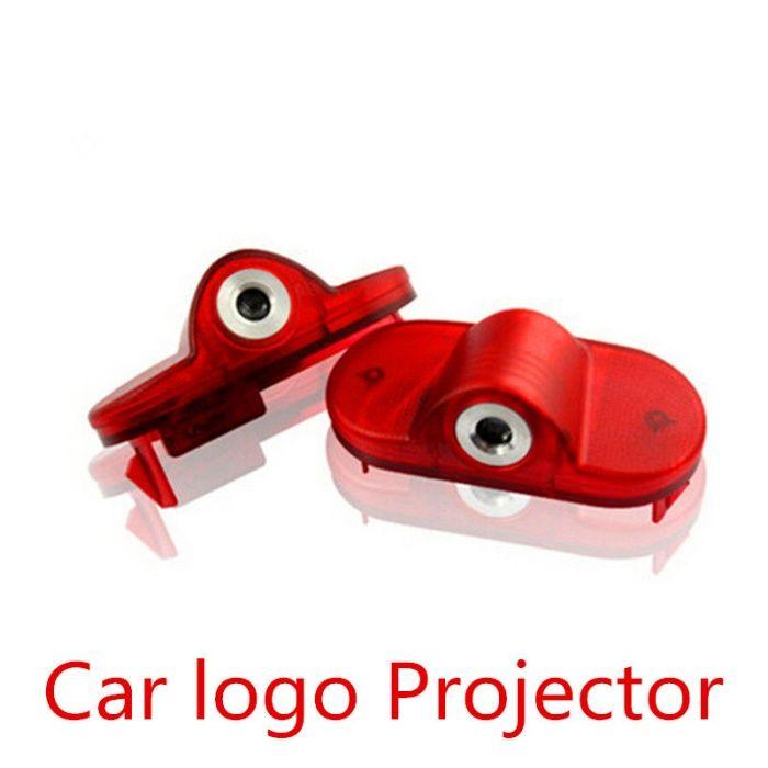 Set 2 lampi logo si lumini portiere VW Golf 4, Beetle, Caddy, Touran