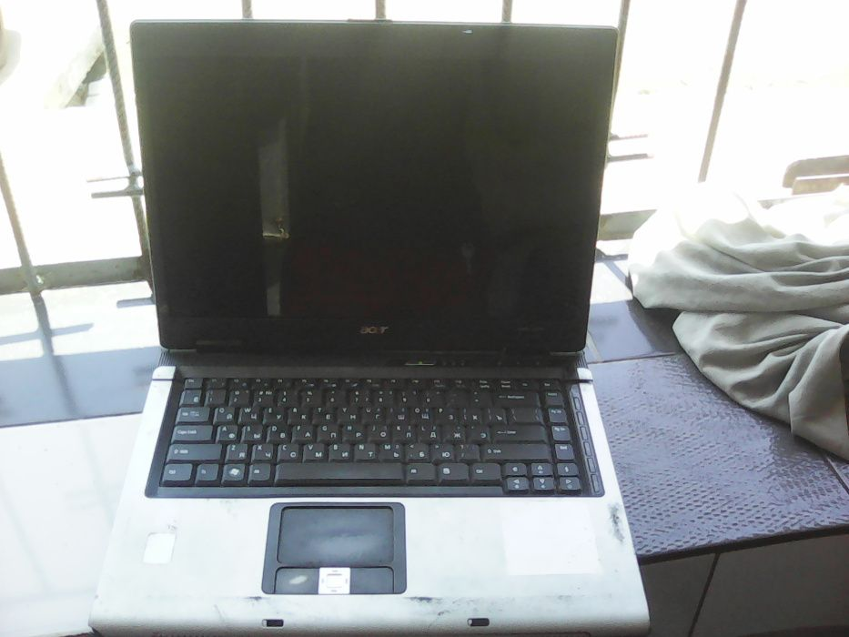 Laptop Acer intel T2300 1.6 GHz para retirada de acessorios