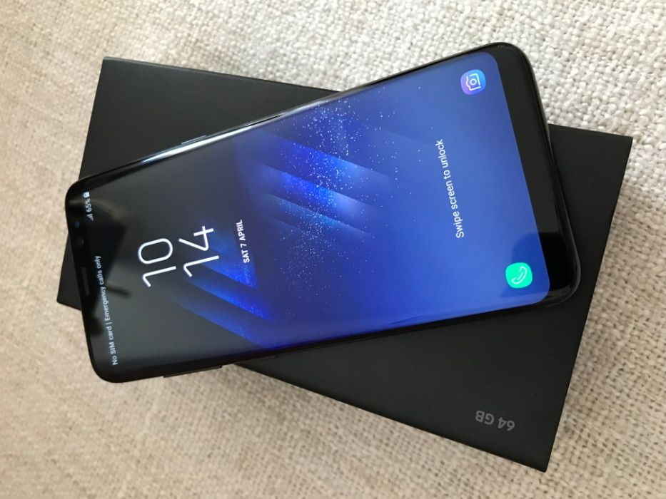 Samsung Galaxy S8 64Gb negru, impecabil, in garantie