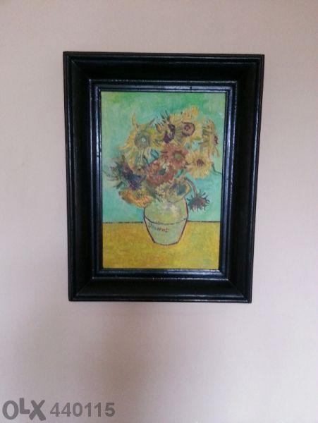 Репродукция на Слънчогледите на Винсент ван Гог