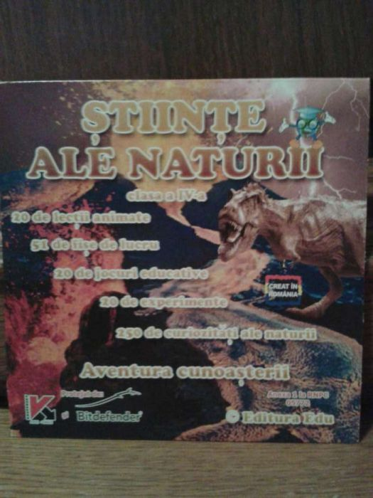 Dvd educativ stiintele naturii