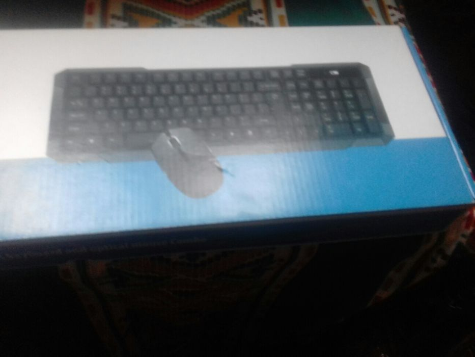 Kit de teclado e mouse wireless