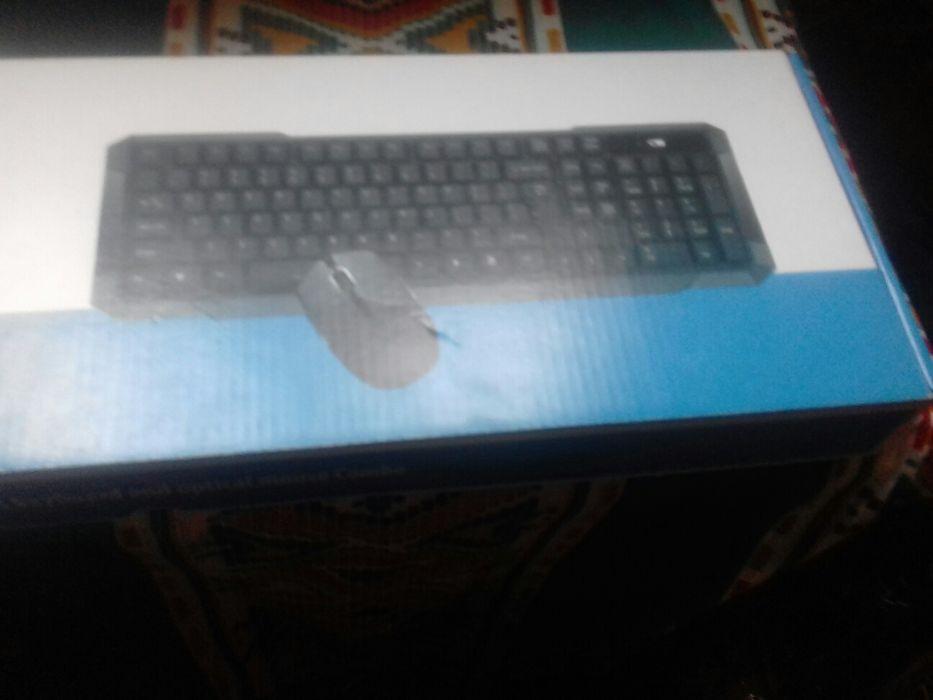 Kit de teclado e mouse wireless