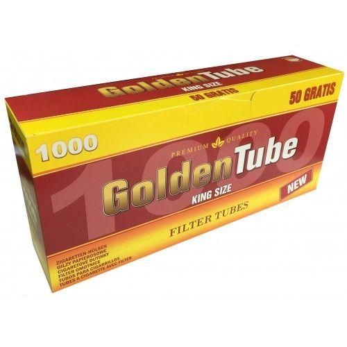 Tuburi de tigari 1000 buc GOLDEN TUBE pentru injectat tutun