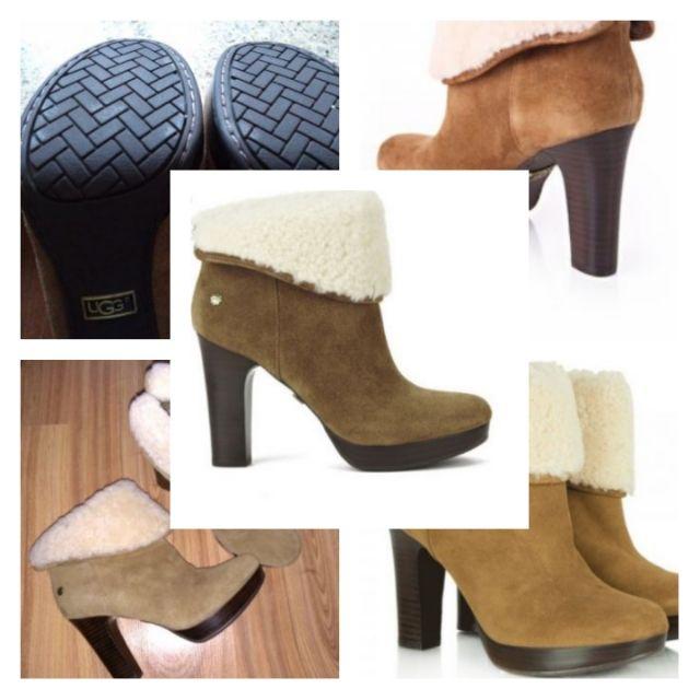 UGG cu toc - UGG dandylion Original - pantofi cu toc Botine-ghete UGG