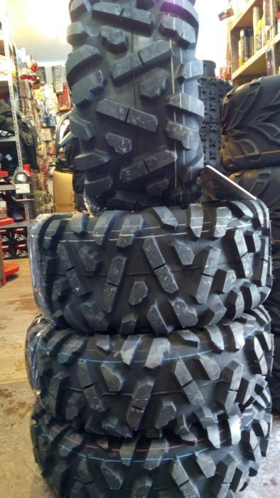 Set anvelope ATV Maxxis Big Horn Bighorn pe 25 NOI ! M917 si M918