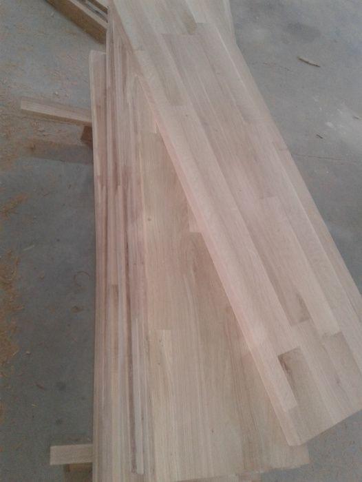 Trepte din lemn masiv de STEJAR - 900X280X30mm