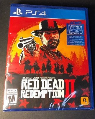 Ps4 Red dead redemption 2 Fifa 19
