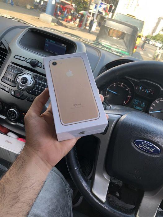 Iphone 7 128gb selado gold