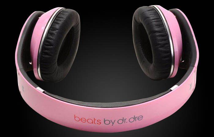 Casti Beats Solo HD cu fir detasabil - ROZ