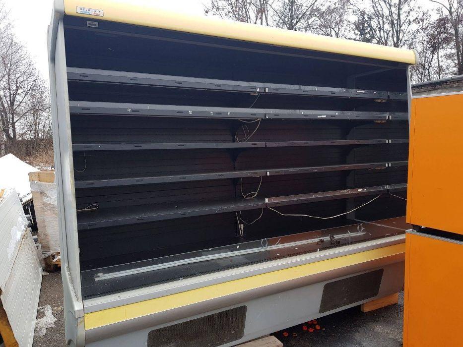 """Крайстенна хладилна витрина """"DERIGO"""" с вграден агрегат"""