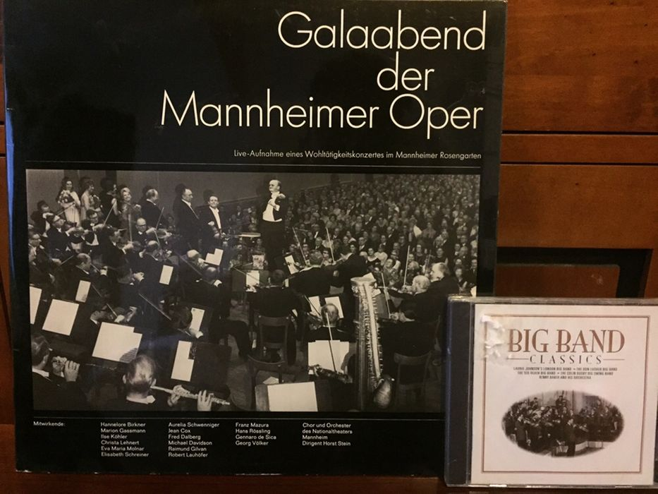 Vinyl+cd : Galaabend + Big Band ; pick-up Sony PS-313 FA