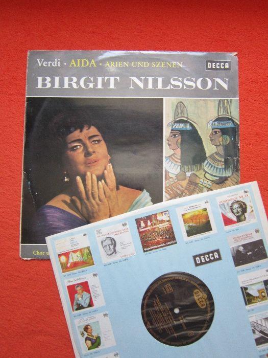 Vinil/Vinyl Verdi - AIDA - Birgit Nilsson,dirijor John Pritchard 