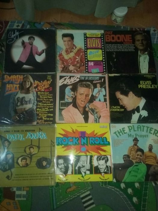 Viniluri placi pick-up picap pikup pikap picup Elvis Presley,Boney M