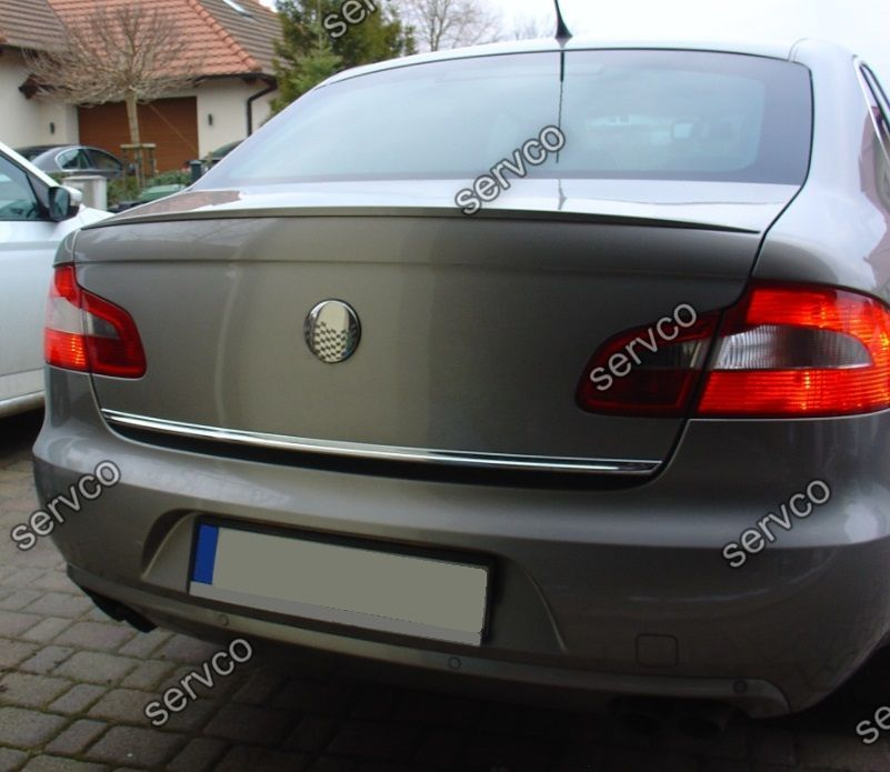 Eleron tuning sport portbagaj Skoda Superb 2 Mk2 Sedan Rline 2008-2015