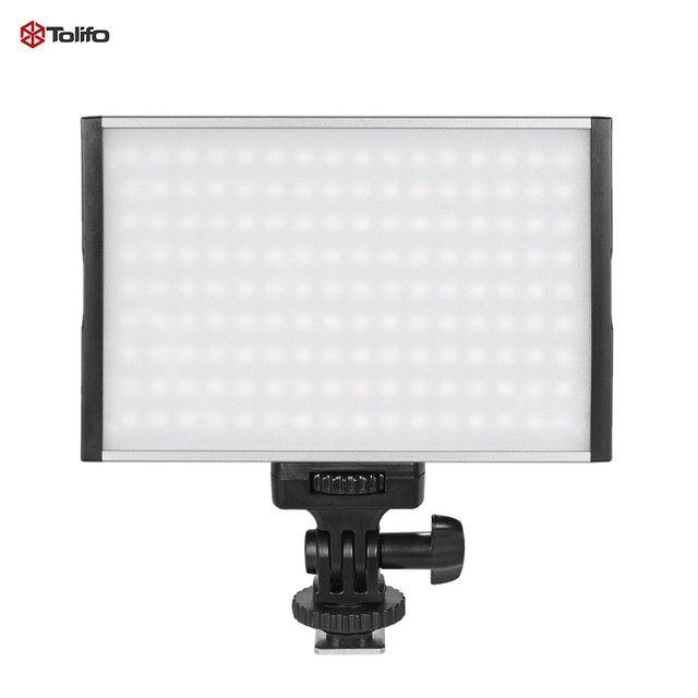 Lampa video 144 Led Tolifo PT-15B Pro Ultra-thin Bi-color 3200K-5600K