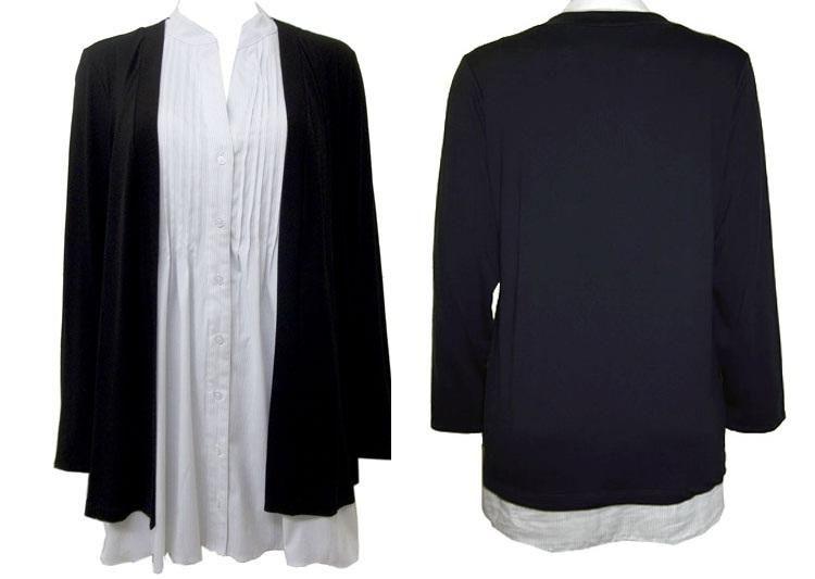 Bluza dama cu cardigan 2 in 1