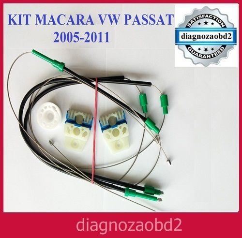 KIT macara reparare geam electric auto VW Passat B6 2005 > stg. dr.