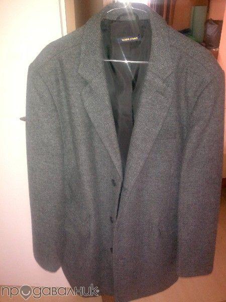 Сиво палто Зара Zara xxl в отлично състояние