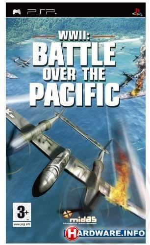 WWII: Battle over the Pacific PSP