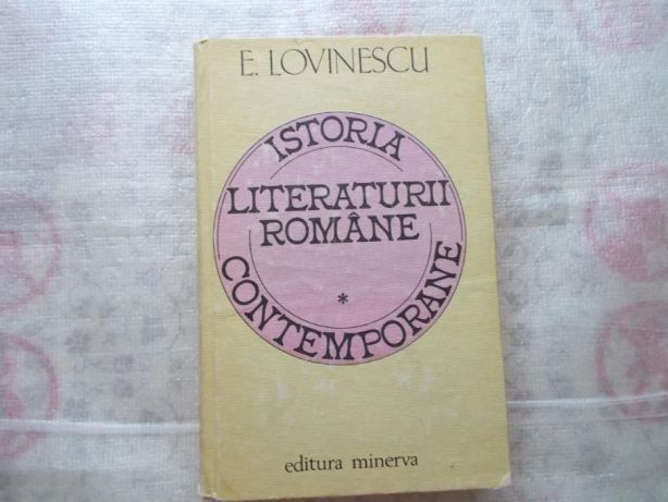 Ieftin,istoria limbii romane conteporane,eugen lovinescu,vol.I,ed.`81